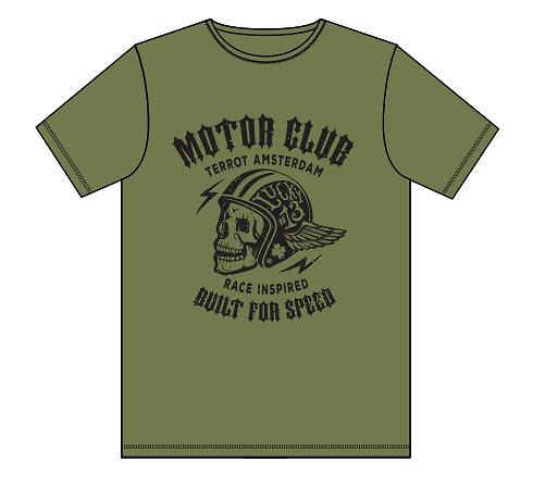 "Teeshirt TERROT ""motor club"""