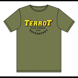 "Teeshirt TERROT ""club france"""