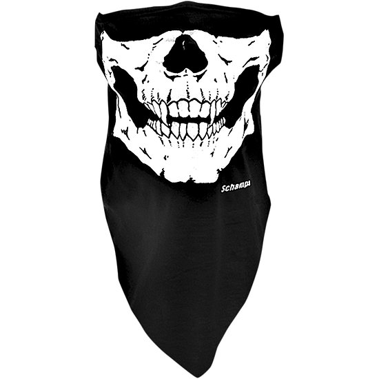 Demi-masque extensible Skull