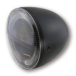 Phare rond Led Circle Black