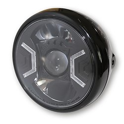 Phare rond Led RENO Type 2 Black
