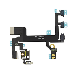 Nappe Power On/Off + Vibreur + Volume iPhone 5S