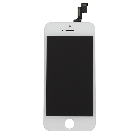 ecran tactile lcd r tina assembl sur chassis iphone 5s blanc. Black Bedroom Furniture Sets. Home Design Ideas