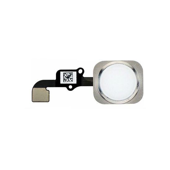 Nappe Bouton Home Blanc iPhone 6 Plus