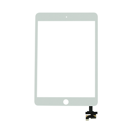 Touch Screen Digitizer with IC iPad Mini 3 White + Home Button + Flex Home Button + Stickers