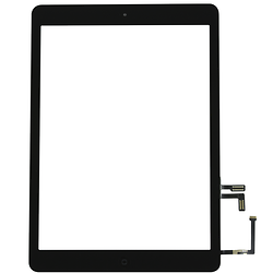Touch Screen Digitizer iPad AIR 5 Black + Stickers + Home Button Assembly