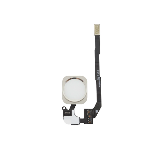 Nappe Bouton Home Blanc iPhone 5S