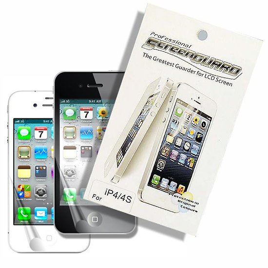 Film de Protection Transparent iPhone 4 / iPhone 4S