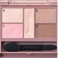 Canmake - Perfect Stylist Eyes - Palette fards à paupières (10 Sweet flamingo)