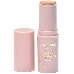 Canmake - Creamy Foundation Stick - Fond de teint stick (01 Beige clair) SPF50+ PA++++