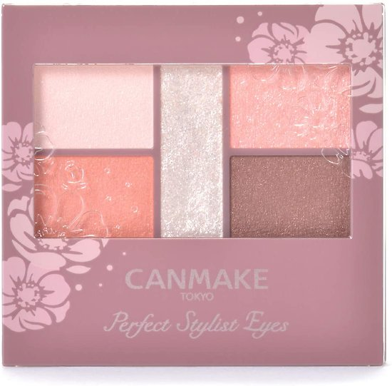 Canmake - Perfect Stylist Eyes - Palette fards à paupières (22 Apricot peach)
