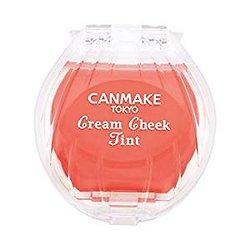 Canmake - Cream Cheek Tint- Fard à joue crème (#5 sweet apricot)
