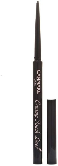 Canmake - Eye liner - Creamy touch liner (01 Deep black)