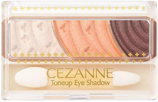 CEZANNE - Toneup eye shadow (06 orange)