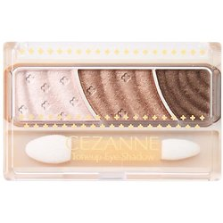 CEZANNE - Toneup eye shadow (04 pink brown)