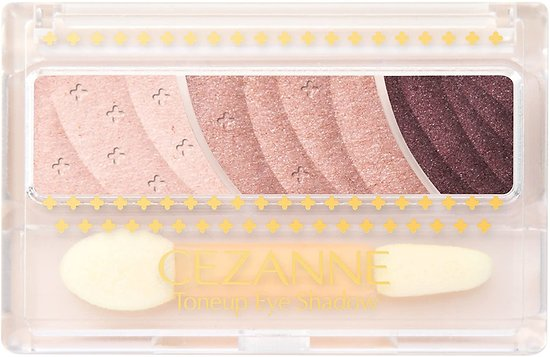 CEZANNE - Toneup eye shadow (02 rose brown)