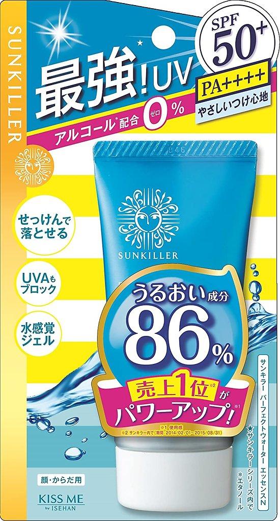 Hisehan - Kiss me - Crème solaire Perfect Water Essence SPF 50+ PA ++++