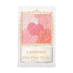 Canmake - Fard à joue Glow Fleur Cheeks (02 Apricot fleur)