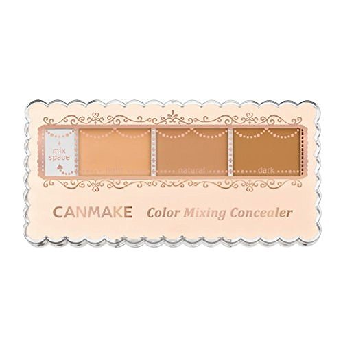 Canmake - Correcteurs SPF 50+ PA++++ (02 Beige naturel)