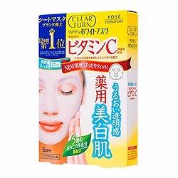 Kosé - Masques visage éclaircissant à la vitamine C