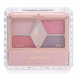 Canmake - Palette fard à paupière Perfect Stylist Eye (14 Antique ruby)