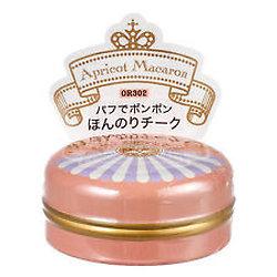 Shiseido - Majolica Majorca - Fard à joue Puff de Cheek (OR302 Abricot macaron)