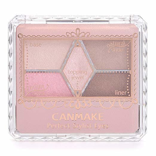 Canmake - Palette fard à paupière Perfect Stylist Eye (10 Sweet flamingo)