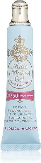 Shiseido - Majolica Majorca - Fond de teint Nude Makes Gel light beige (LB)
