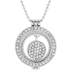 """""""MARIAGE"""" COLLIER CHARM STRASS"""
