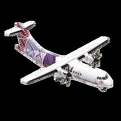 Maquette ATR 42 Ohana 1/400