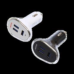 Chargeur automobile 3 ports USB (12V)
