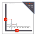 ATR72 DELTA CONNECTION 1/400th