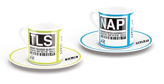Set of espresso coffee cups (TLS & NAP)