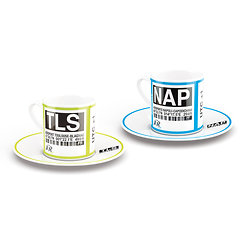 Set of espresso coffee cups (TLS & NAP)