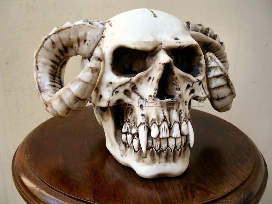 Crâne du Vampire à Cornes/Démon