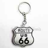 Porte clef Route 66/Bikers USA/Motard/Harley