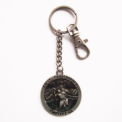 PORTE CLEF SAINT CHRISTOPHE/PROTECTION