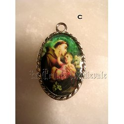 Médaille Religieuse Biface/Saint-Antoine de Padoue
