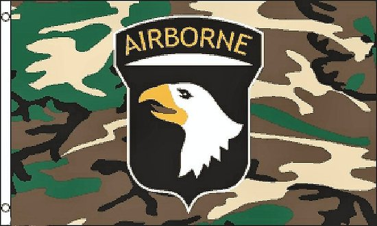 DRAPEAU AIRBORNE 150X90 CM/USA/D.DAY