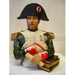 BUSTE NAPOLEON COULEUR GM/EMPIRE/BONAPARTE