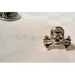 Pin's Tête de Mort/Totenkopf/Skulls and Bones/Franc-Maçonnerie