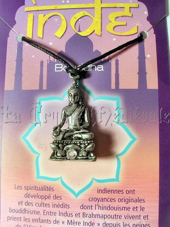 PENDENTIF BOUDDHA/HINDOUISME/Siddhârta Gautama