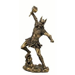 THOR/STYLE BRONZE/MYTHOLOGIE NORDIQUE/VIKING/