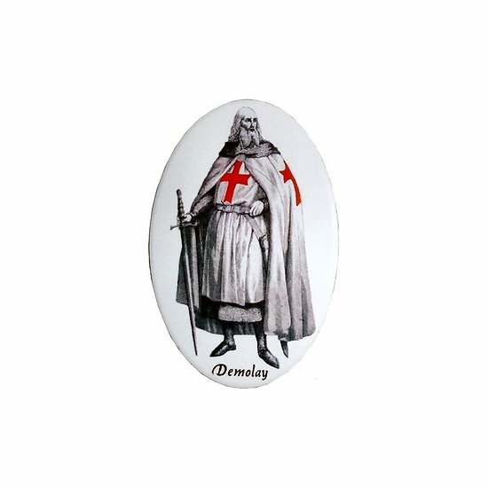 MAGNET TEMPLIER JACQUES DE MOLAY