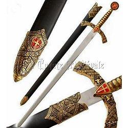 épée CHEVALIER TEMPLIER XIII SIECLE/ORDRE DU TEMPLE