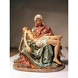 La Pièta couleur /Michel Ange/Rome/Passion du Christ/Marie