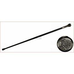 Canne épée Franc-Maçonnerie/equerre et compas,truelle
