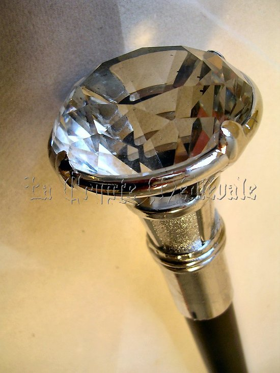 Canne épée Le Marquis Diamant/steampunk/Dandy