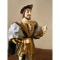 Statuette François 1er/Capétiens/Marignan/1515