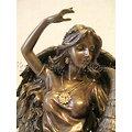 Statue de Tyché Déesse de la fortune/Fortuna/Océanides
